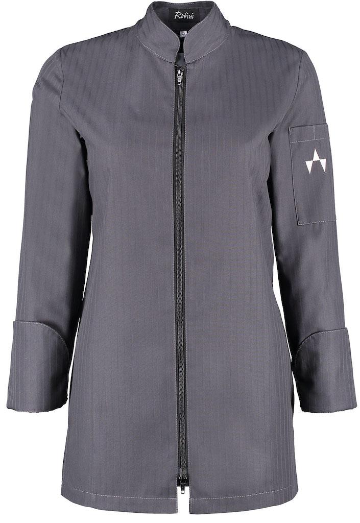Damenjacke Dina TST Charcoal Black Zip