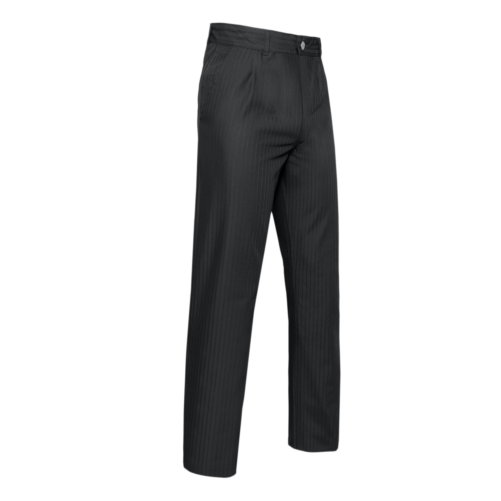 Pantalon Ton sur Ton Black Satin