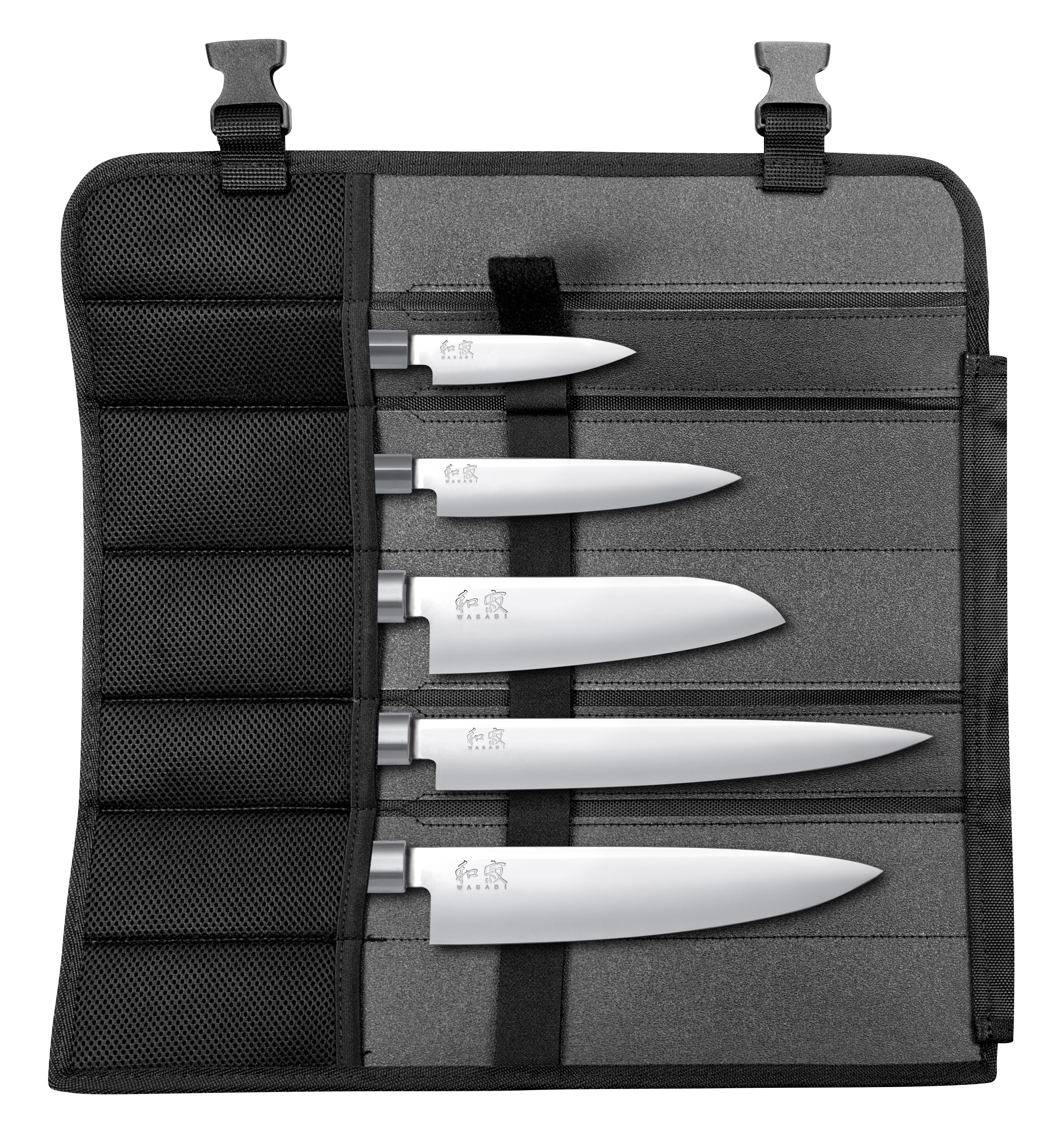 Messer-Set mit Messertasche