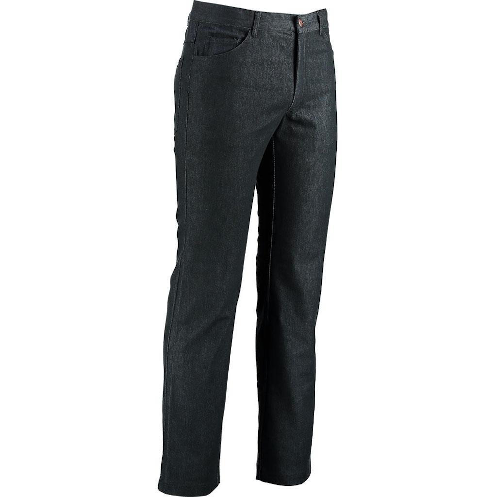 Robini Kochhose 5 Pocket Black Denim