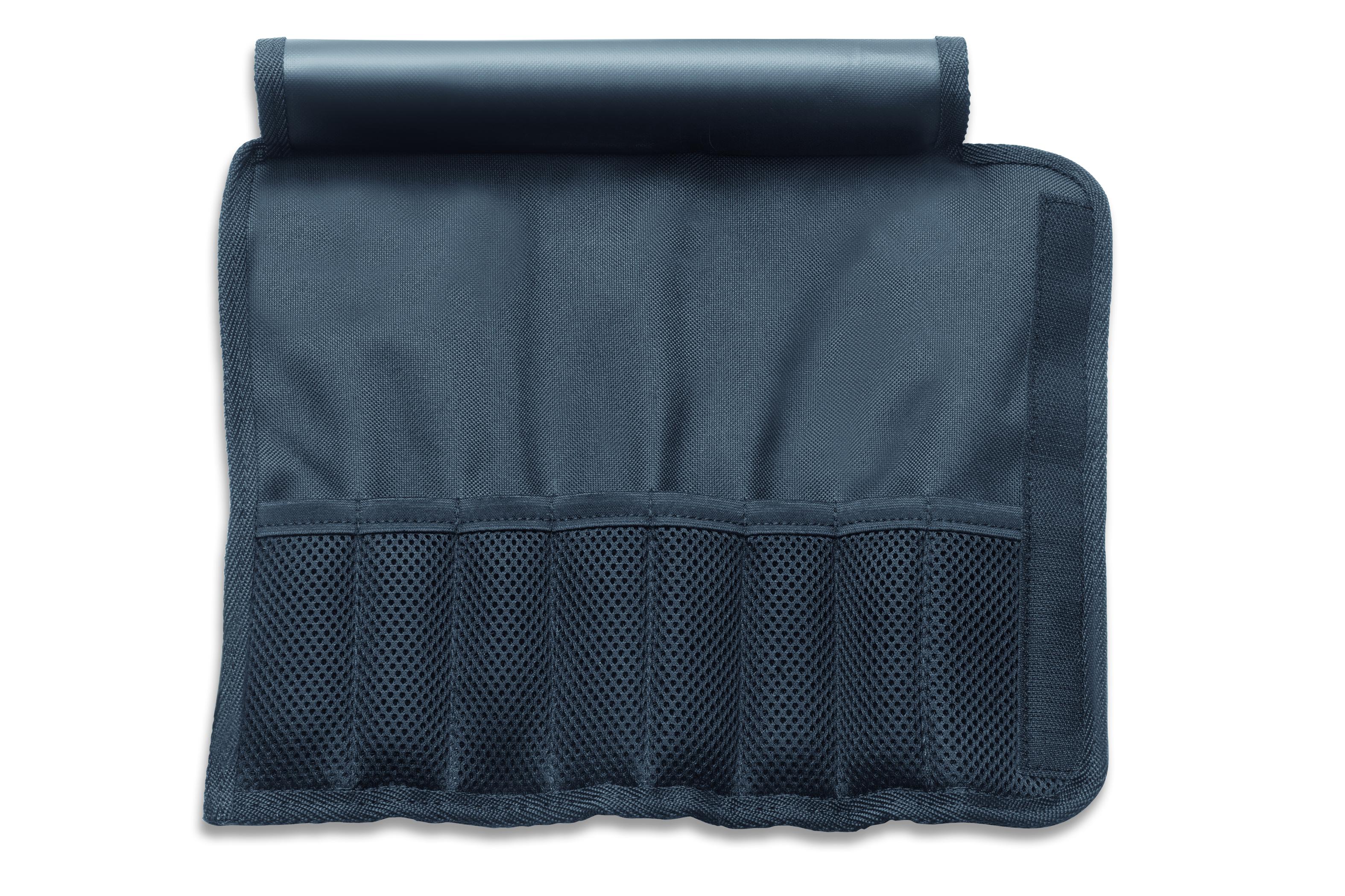Textil-Rolltasche für Garnierwerkzeug 8-tlg., waschbar, leer