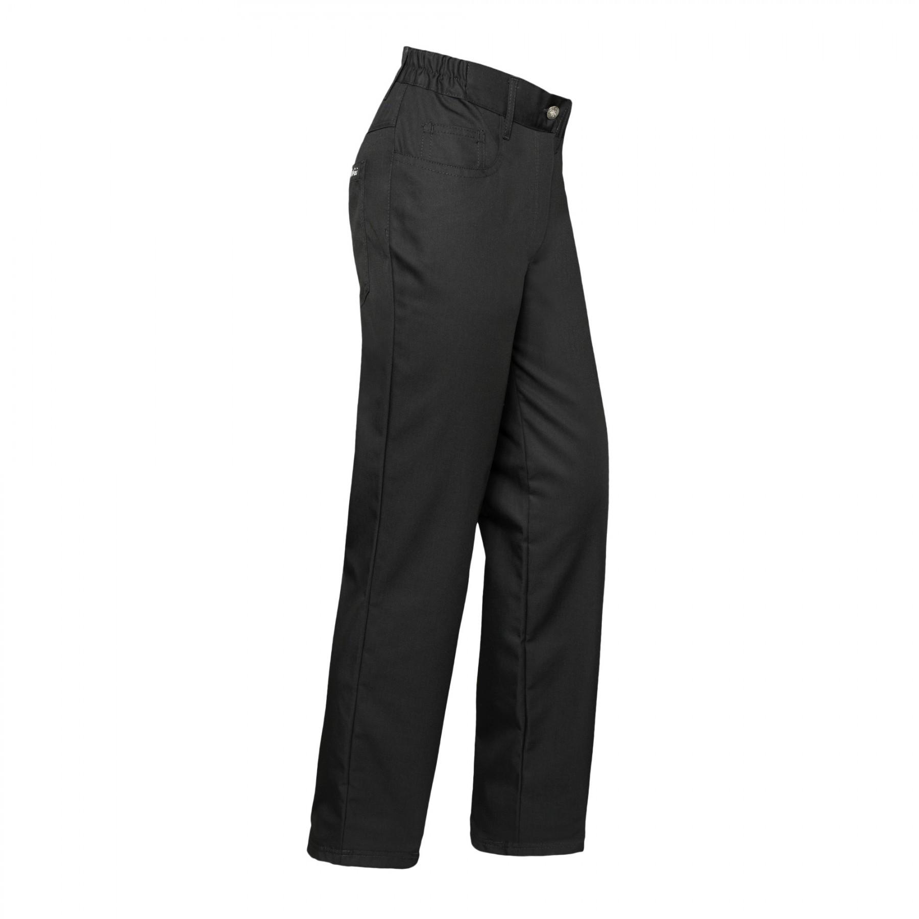 Damen Pantalon 5-Pocket Black